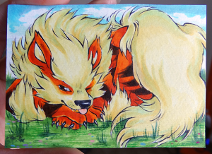 arcanine complete