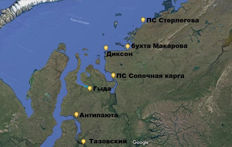 карта маршрута_гугл