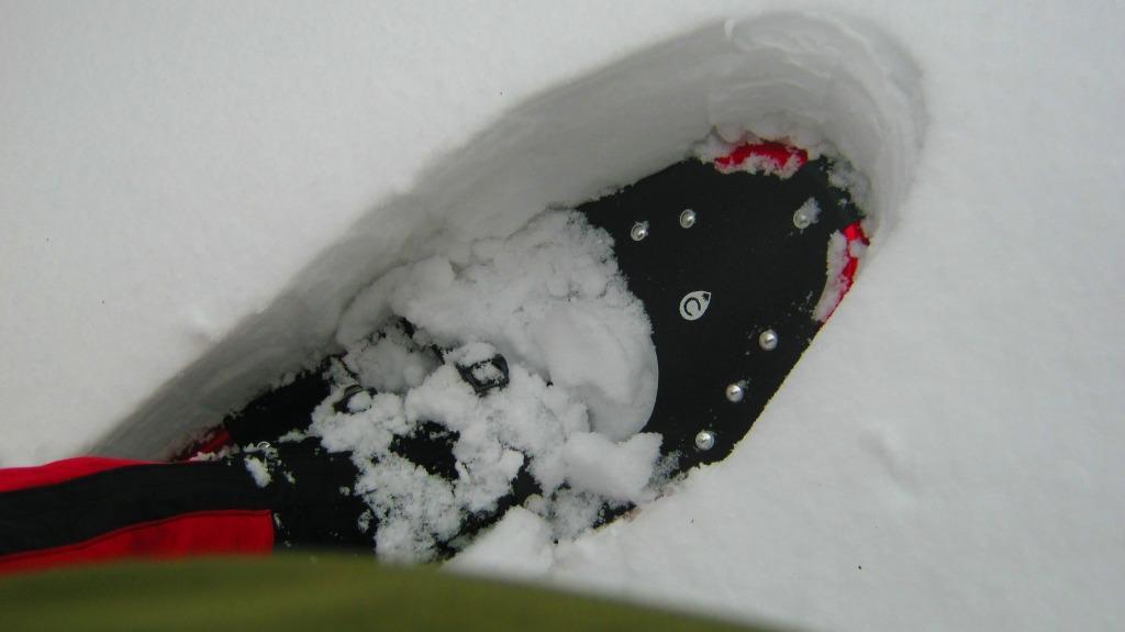 глубина снега