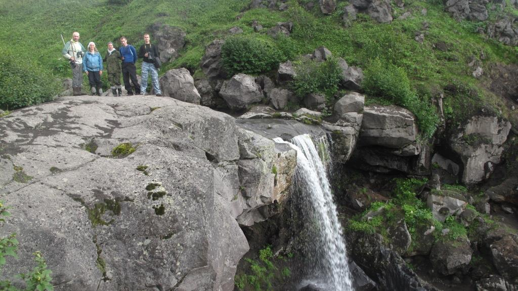 бараний водопад