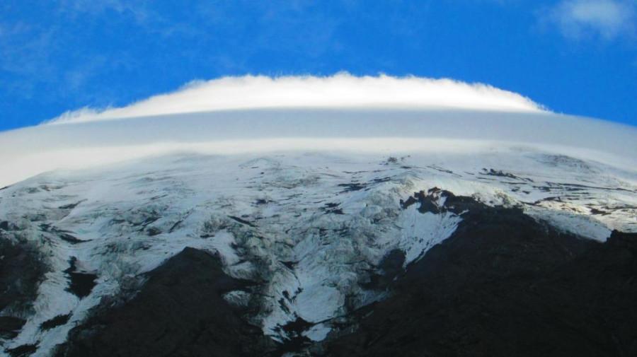 облако на вершине