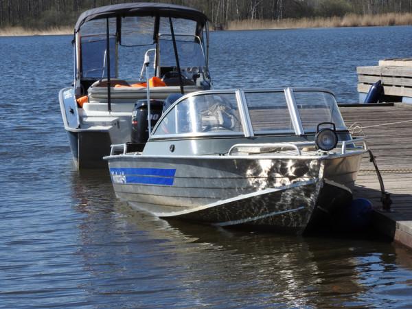 стоянка катеров и лодок