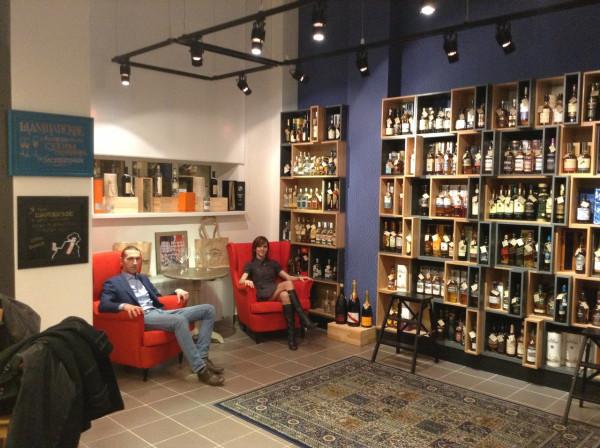тихий семейный вечер )) в Чебоксарах появляются очень крутые новые места: магазин Виноград и лофт-бар Архив.