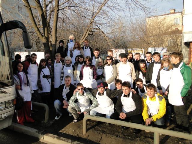 16 апреля акция Белые фартуки