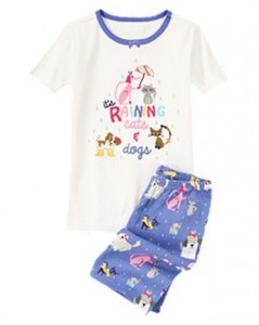 Cats & Dogs Shortie Two-Piece Gymmies®