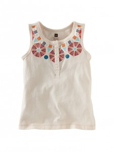 Henley Necklace Tank Top 1