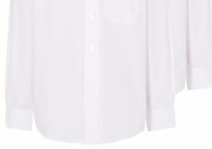 Girls School 5 Pack Long Sleeve Shirt - White