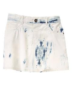 Jean Skirt acid wash denim