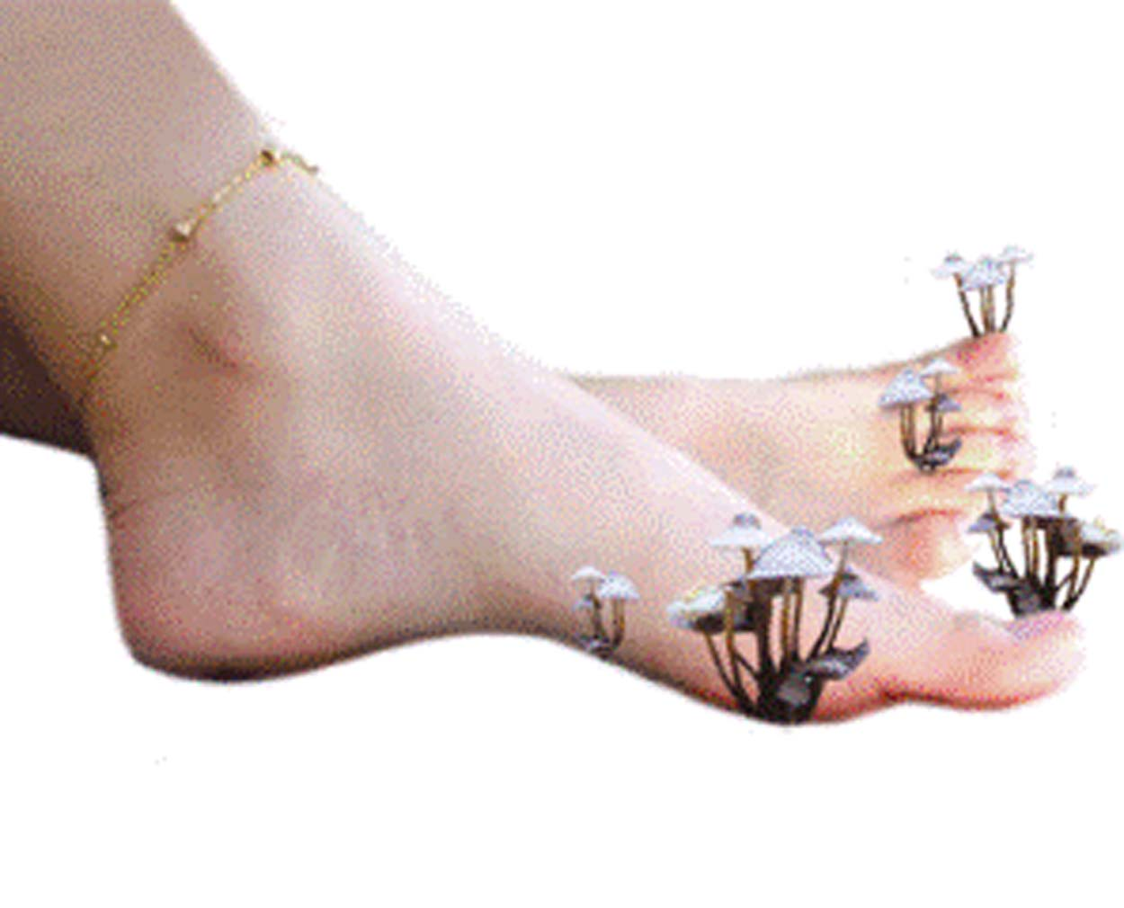 Ванны из морской соли от грибка ногтей ног