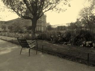 Сады Тюлери, утро