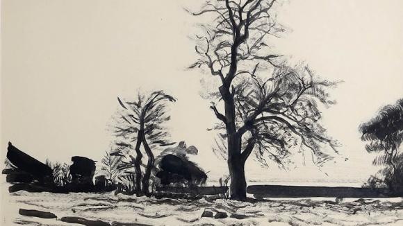 Сухое дерево (фрвгмент), 1938