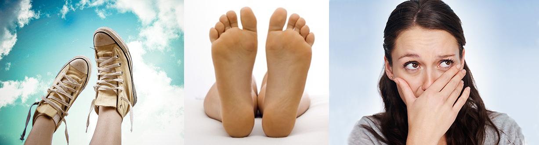 почему воняют ноги