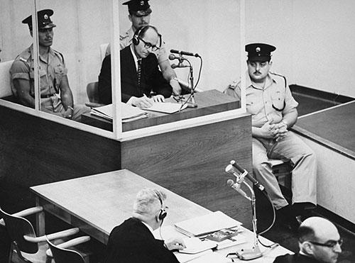 Судебный процесс над Адольфом Эйхманом