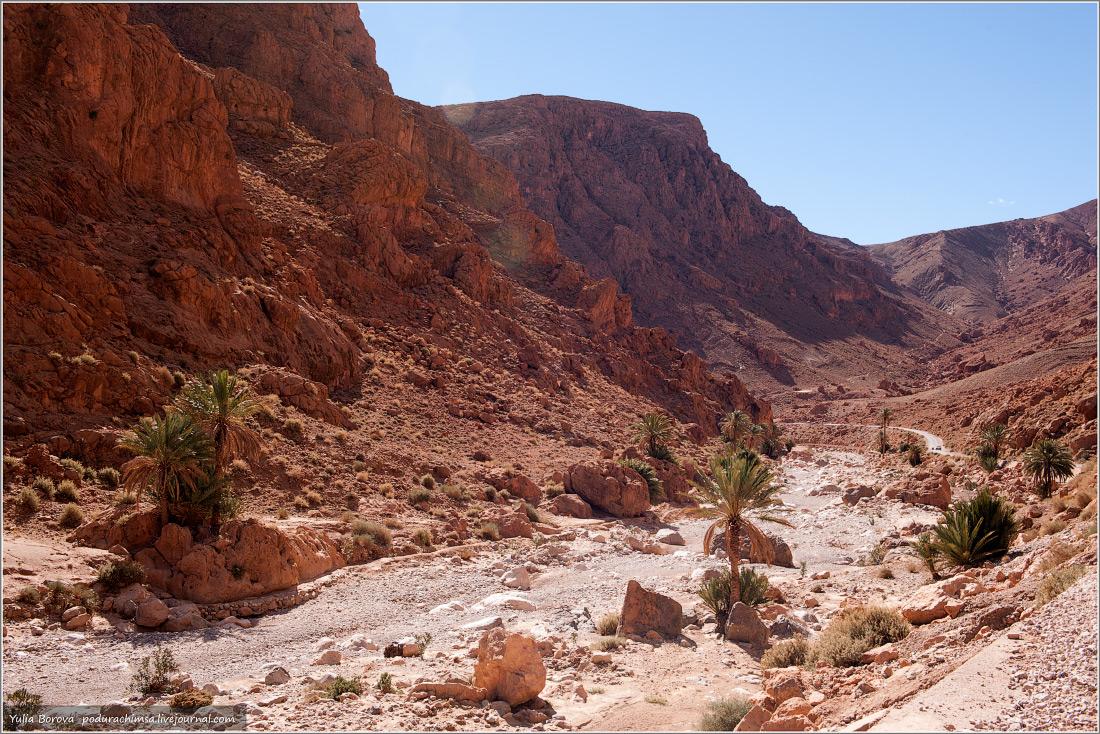 Жаркие горы Марокко