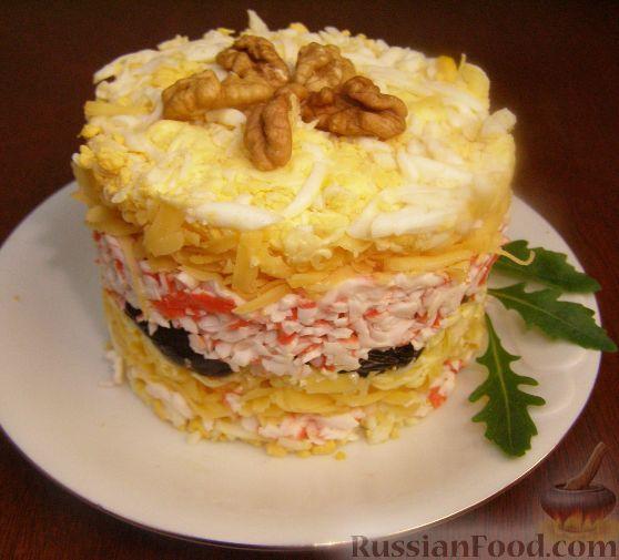 Салат черный жемчуг рецепт