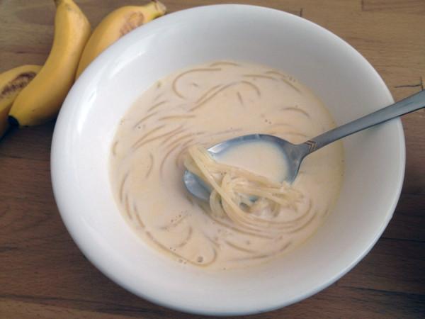 молочный суп лапшой рецепт фото