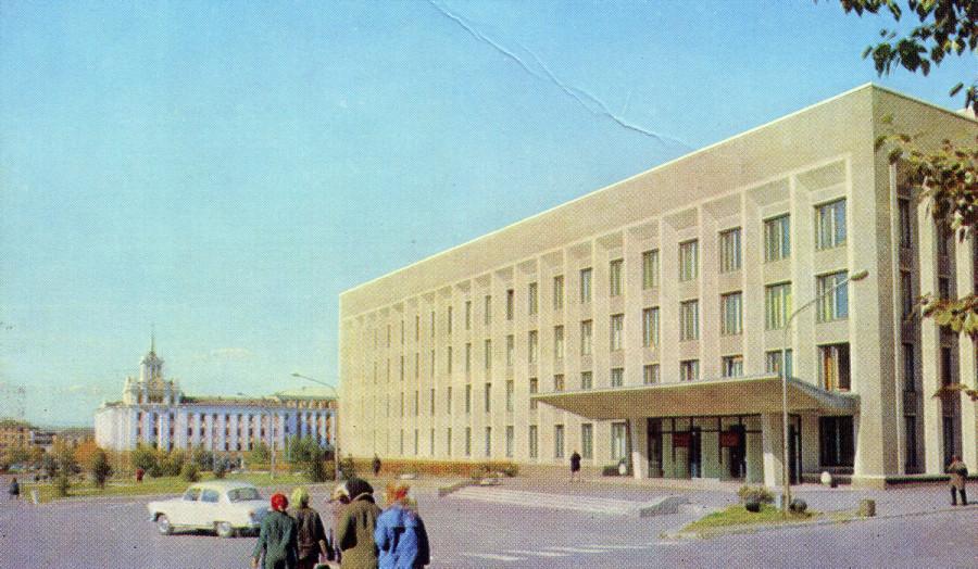 Здание правительства Бурятии