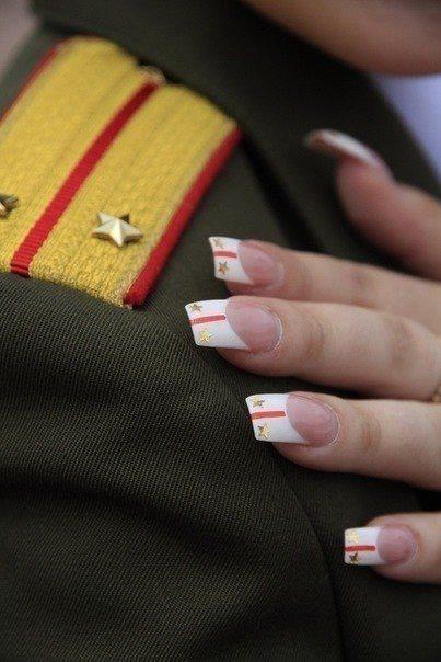 военно-полевой гламур :)