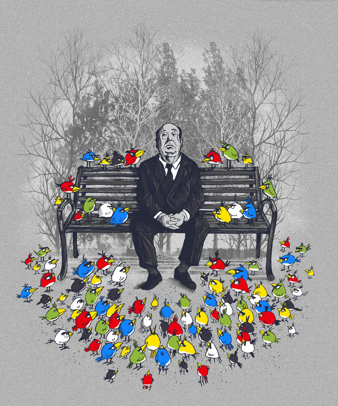 alfred hitchcock's «angry birds»