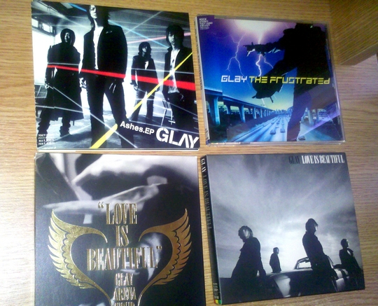 glay cds for sale.