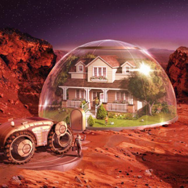 Дом на марсе фото