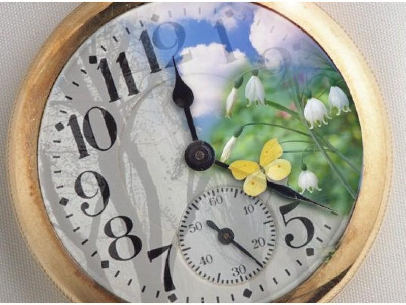 Весной стрелки часов передвигались на один час и время становилось летним, а осенью в результате перевода время вновь становилось зимним.