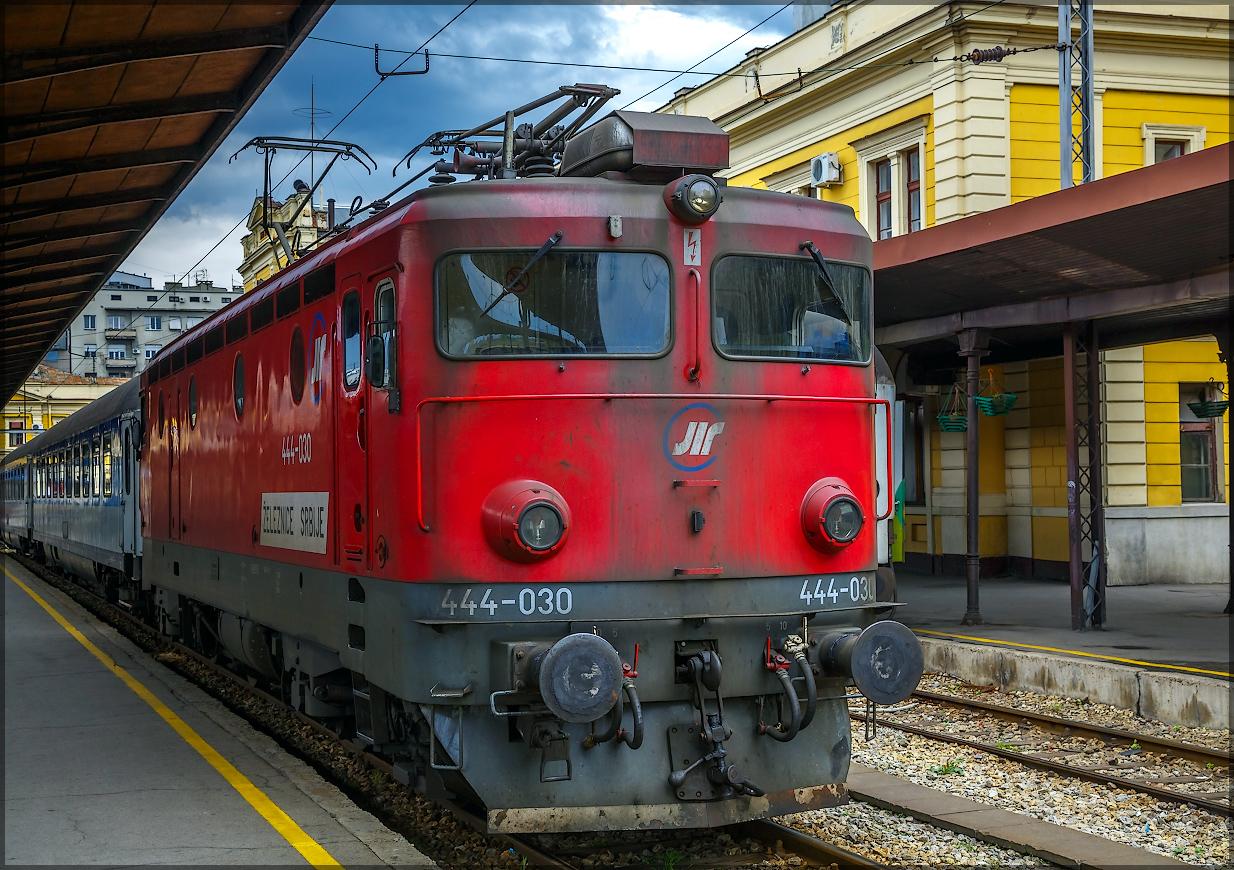 локомотив ŽS 444-030