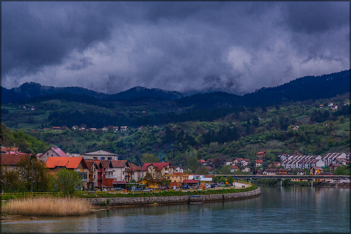 Вишеград, река Дрина