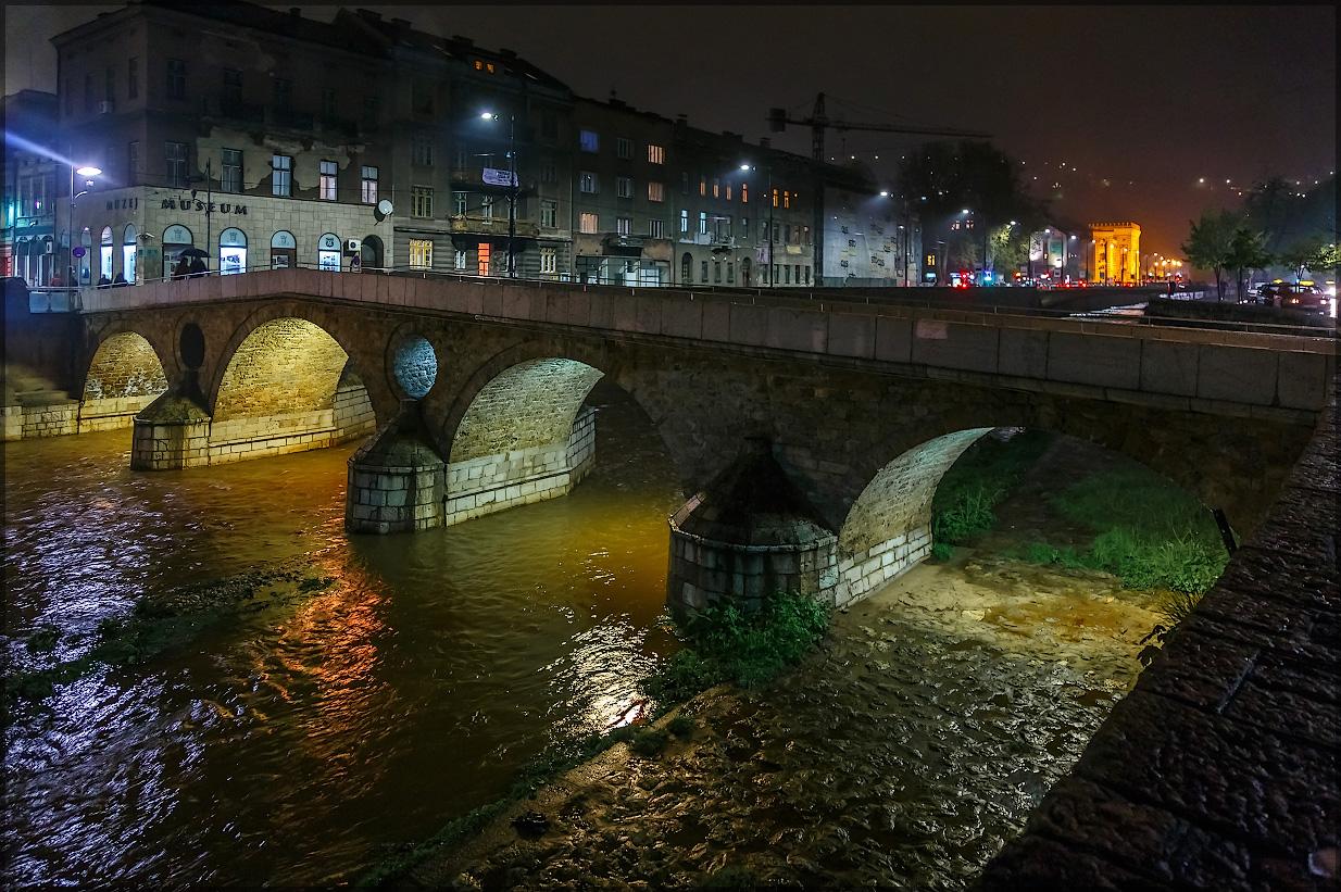 Сараево, Босния и Герцеговина - Латинский мост