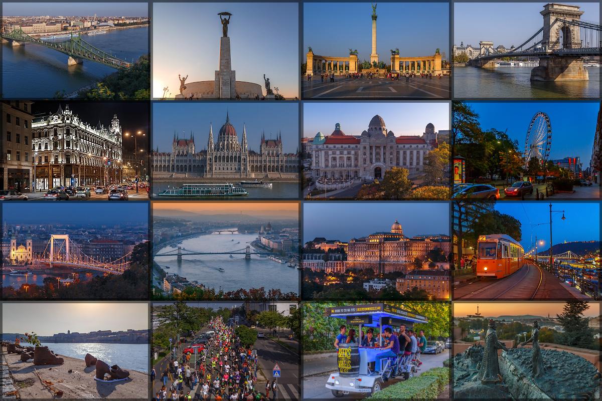 Удивительный город, раскинувшийся на обеих берегах величавого Дуная