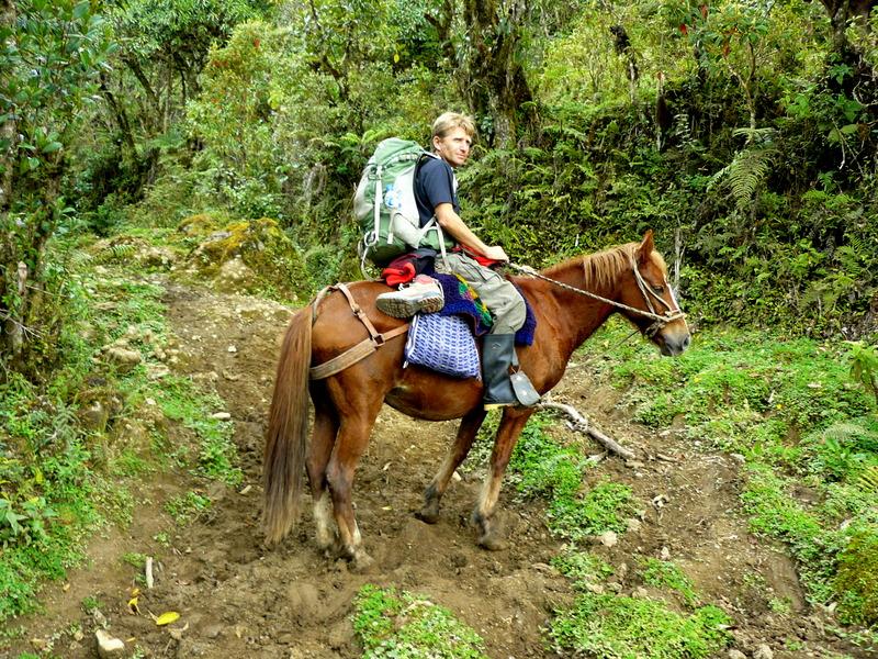 Un gran viaje a América del Sur. Перу. Амазонас. Трёхдневный конный поход к Лагуне Кондоров