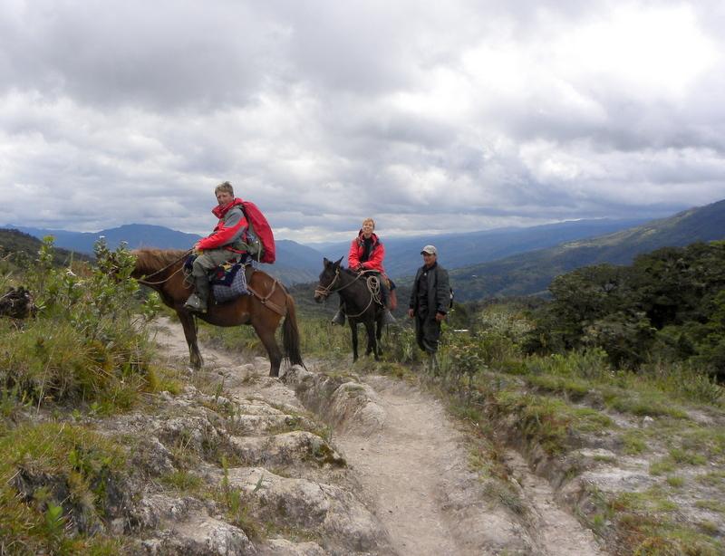 Un gran viaje a América del Sur. Перу. Амазонас. Возвращение из Лагуны Кондоров