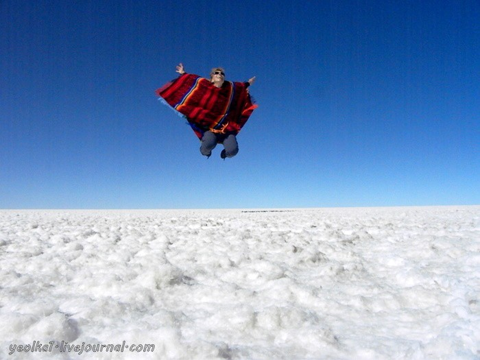 Un gran viaje a America del Sur. Боливия. Салар де Уюни - самая близкая к Космосу соляная пустыня