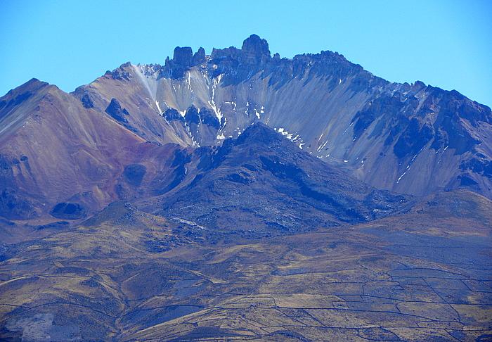 Un gran viaje a America del Sur. Боливия. Выход в космос. Вулкан Тунупа - мать Салара