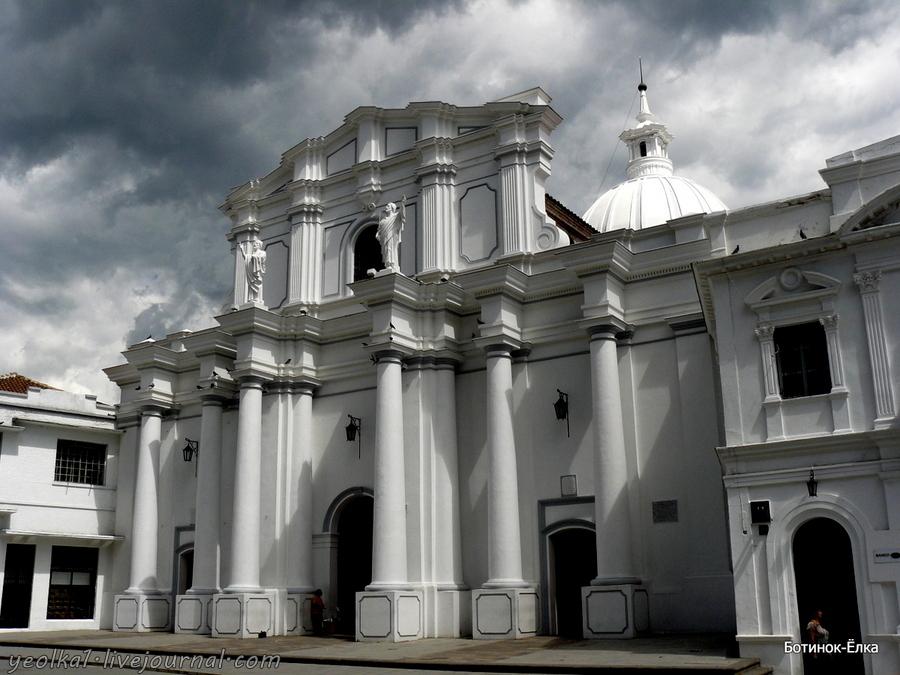 Колумбия - Con mucho gusto! Попаян - белый город