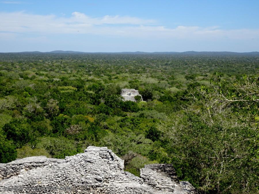 Mundo Maya. Мексика. Кампече. Калакмуль - Царство Змея -