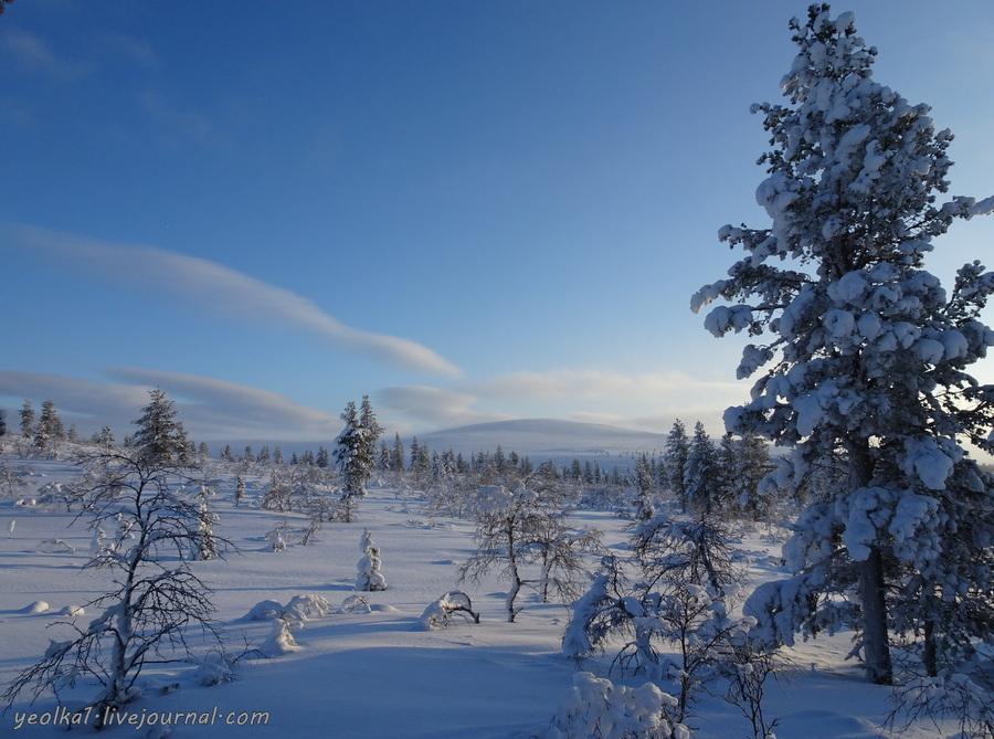 Лапландия. Саариселька. Часть 7. Одежда для беговых лыж