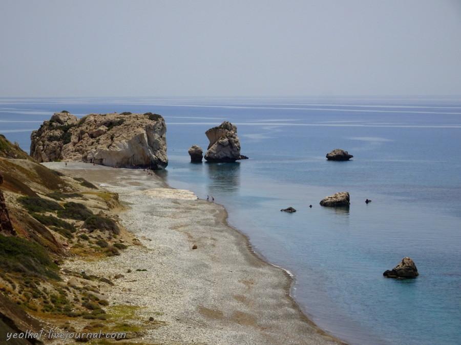 В Пафос на длинный уик-энд. Petra tou Romiou трейл и скалы Афродиты