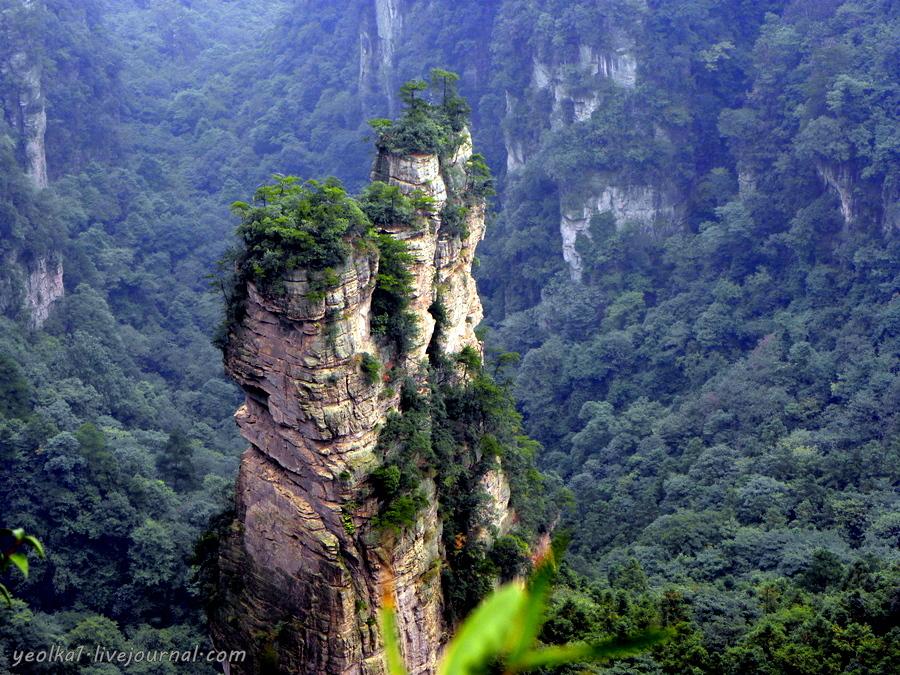 Под небом Поднебесной. Чжанцзяцзе. Zhangjiajie National Forest Park -