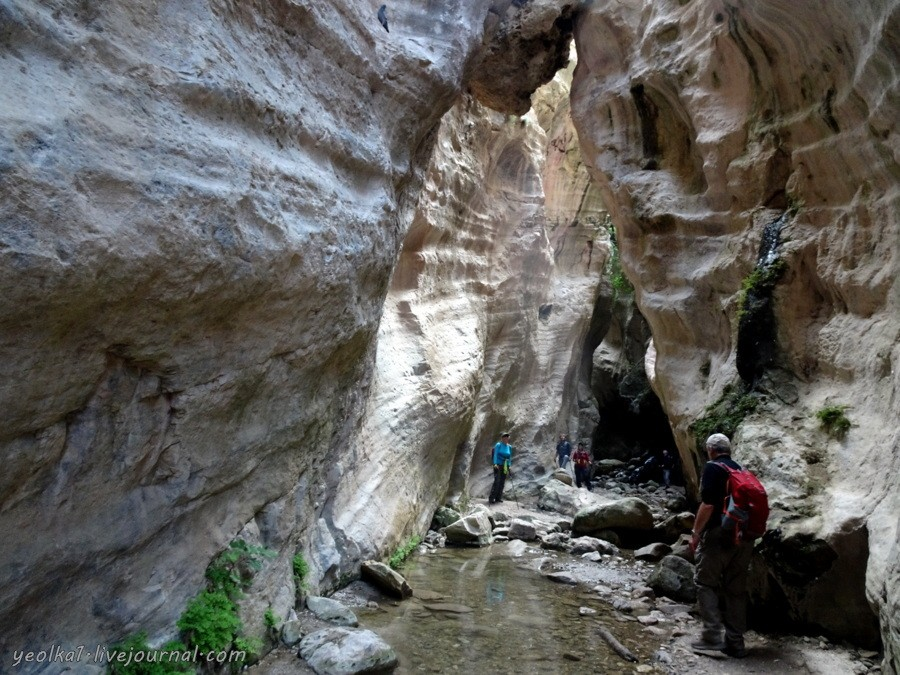 В Пафос на длинный уик-энд. Трейл в ущелье Авакас