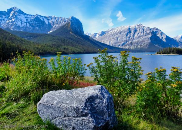 По западу Канады. Альберта. Верхнее озеро Кананаскис