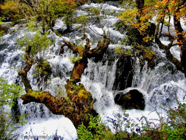 Под небом Поднебесной. Цзюджайгоу - долина Цзэчава