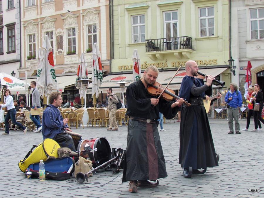 Прага. Немного старого города