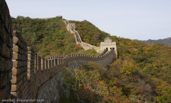 Под небом Поднебесной. Великая Китайская Стена – участок Мутяньюй