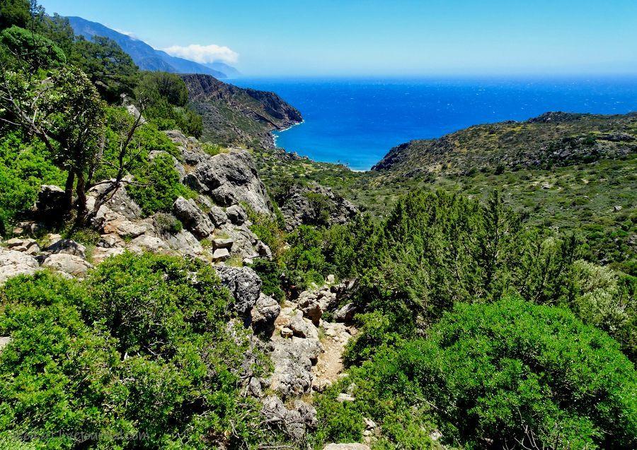 Пешком по юго-западу Крита. Е4. Палеохора - Лиссос (Paleohora - Lissos)