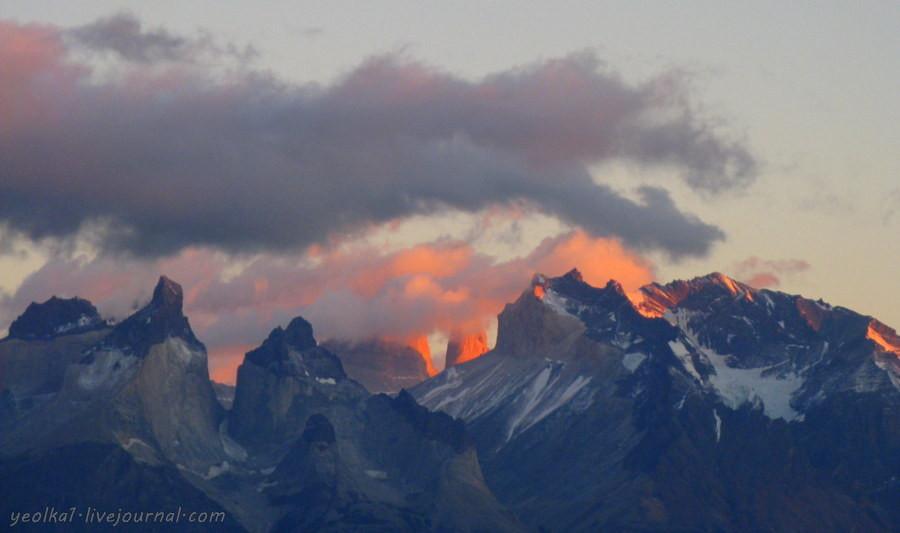 Чили - сбыча мечт! Патагония. Рассвет на Торресах через Куэрнос
