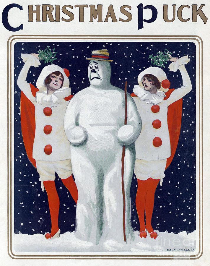 puck-christmas-1913-science-source
