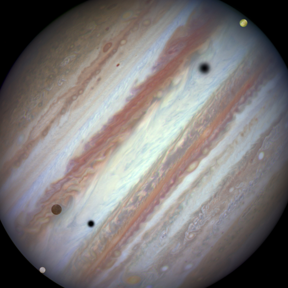 JupiterTriple0710UT_HST