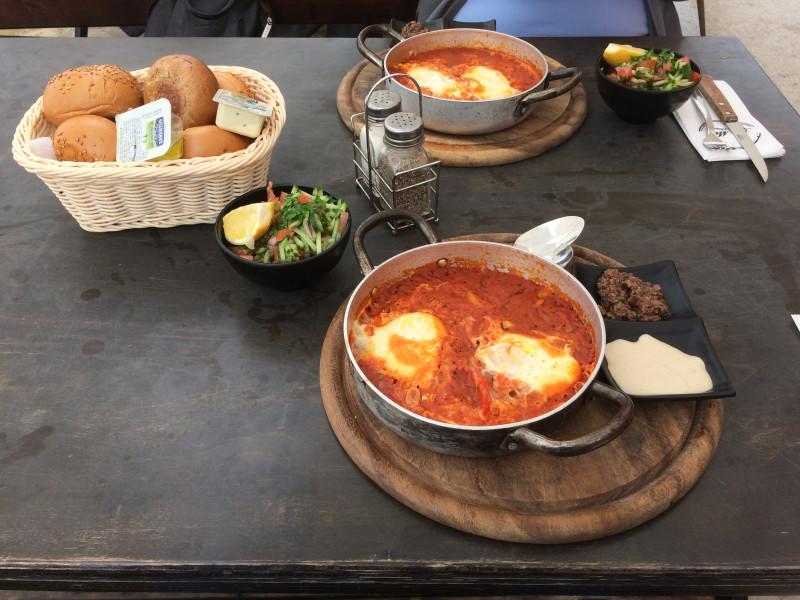 Как в Тель-Авиве питать-кушать -