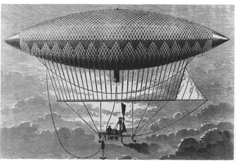 1852 Дирижабль Анри Жиффар